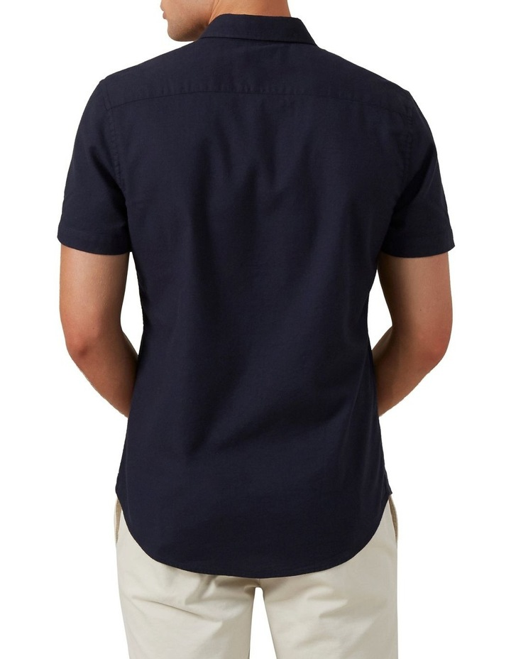 Oxford Short Sleeve Custom Fit Shirt image 3