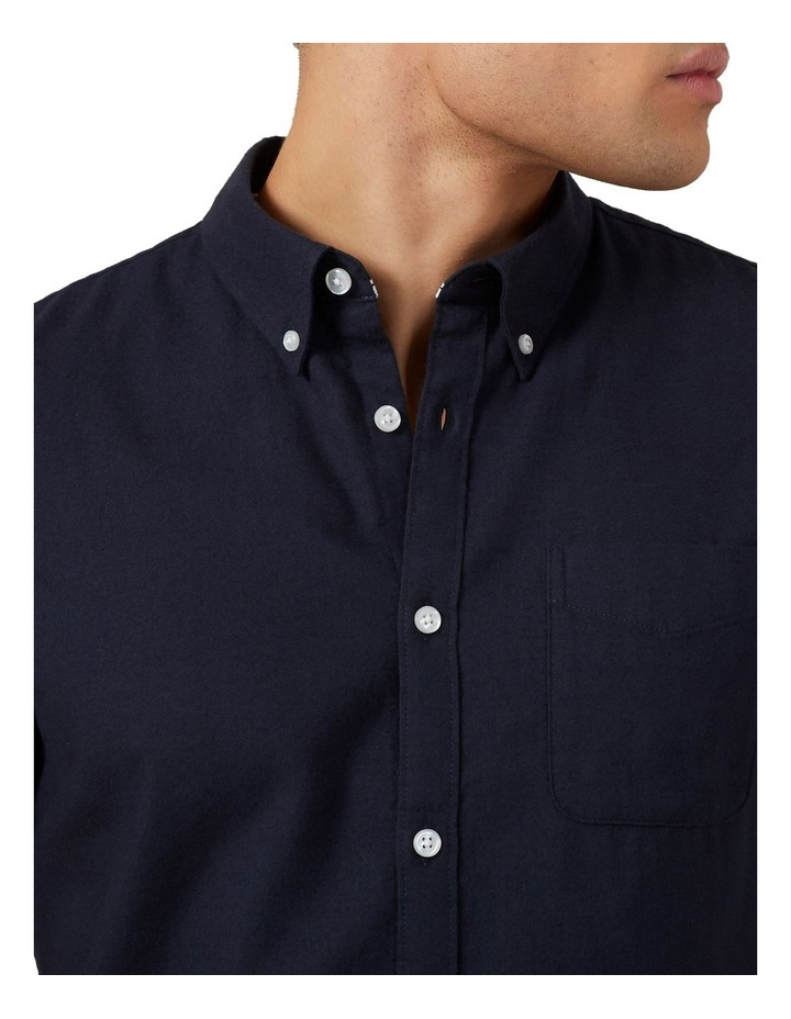 Oxford Short Sleeve Custom Fit Shirt image 4