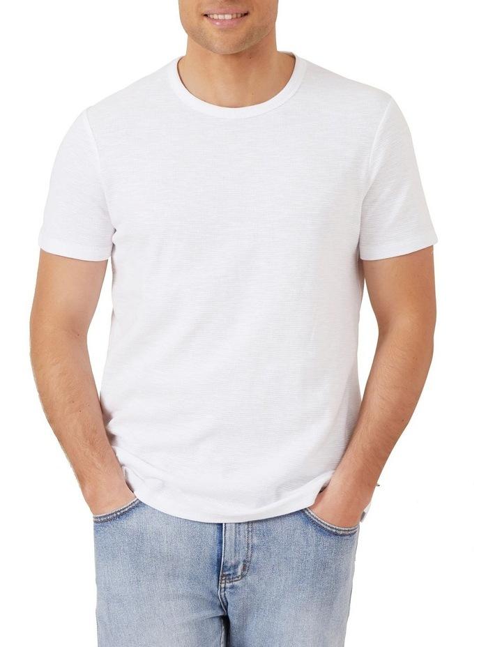 Waffle Short Sleeve T Shirt image 1