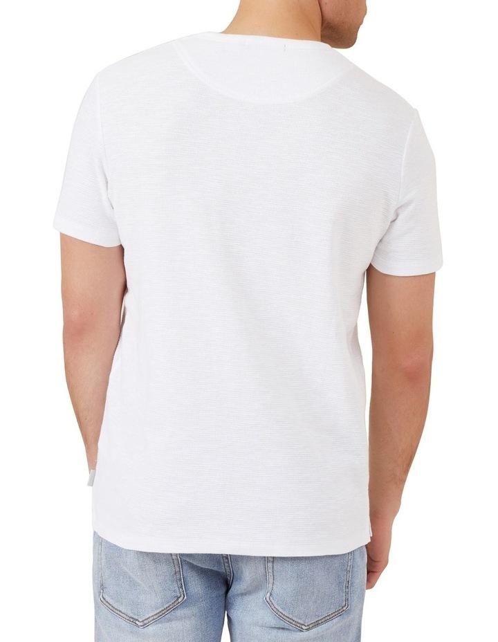 Waffle Short Sleeve T Shirt image 3