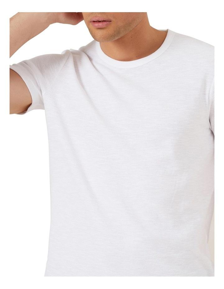 Waffle Short Sleeve T Shirt image 4