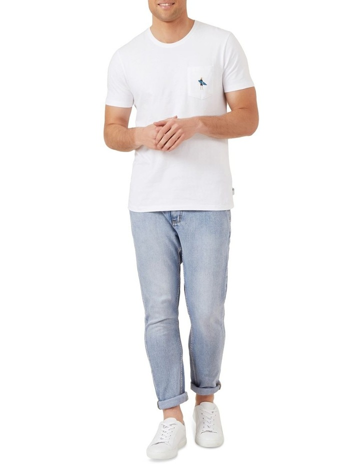 Surfer Embroidery T Shirt image 2