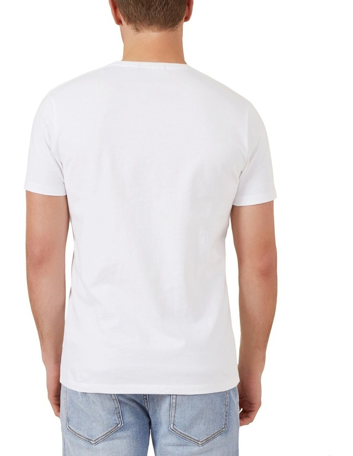 Surfer Embroidery T Shirt image 3