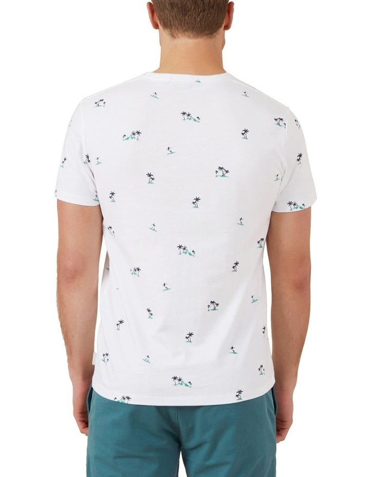 Hawaiian Print T Shirt image 3