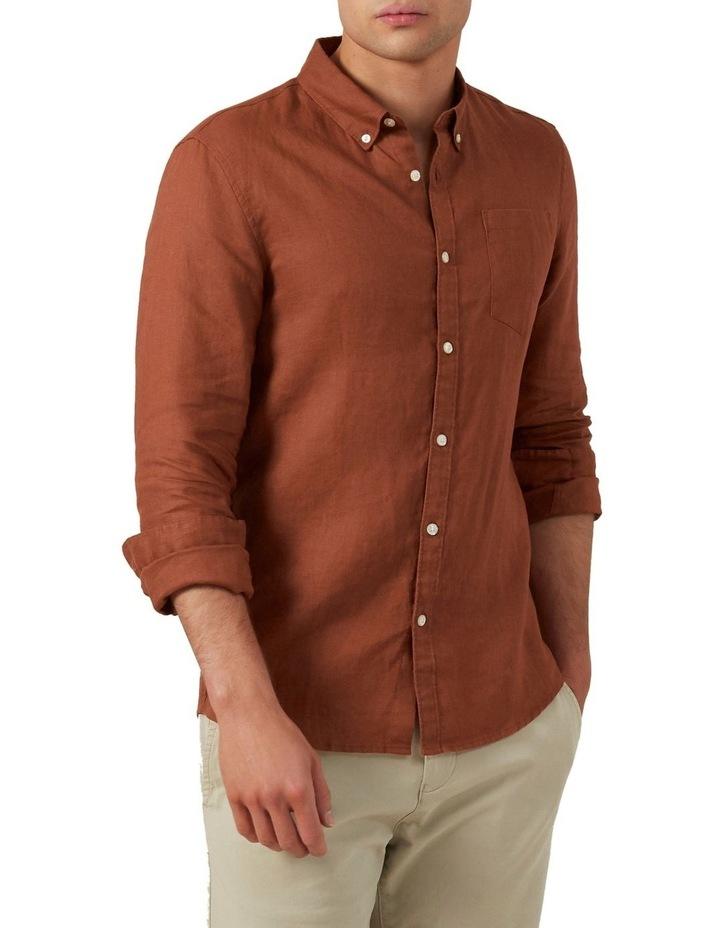 Linen Classic Fit Shirt image 1
