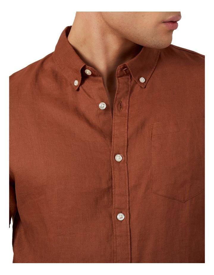 Linen Classic Fit Shirt image 4