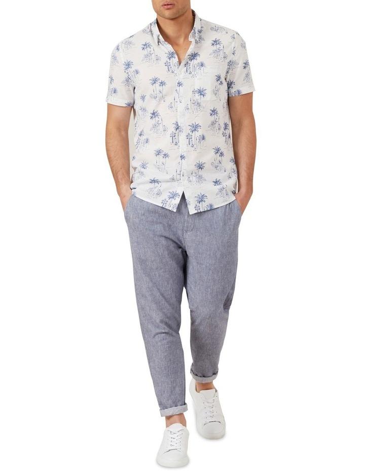 Hawaiian Print Classic Fit Shirt image 2