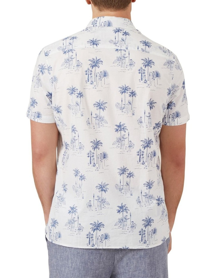 Hawaiian Print Classic Fit Shirt image 3