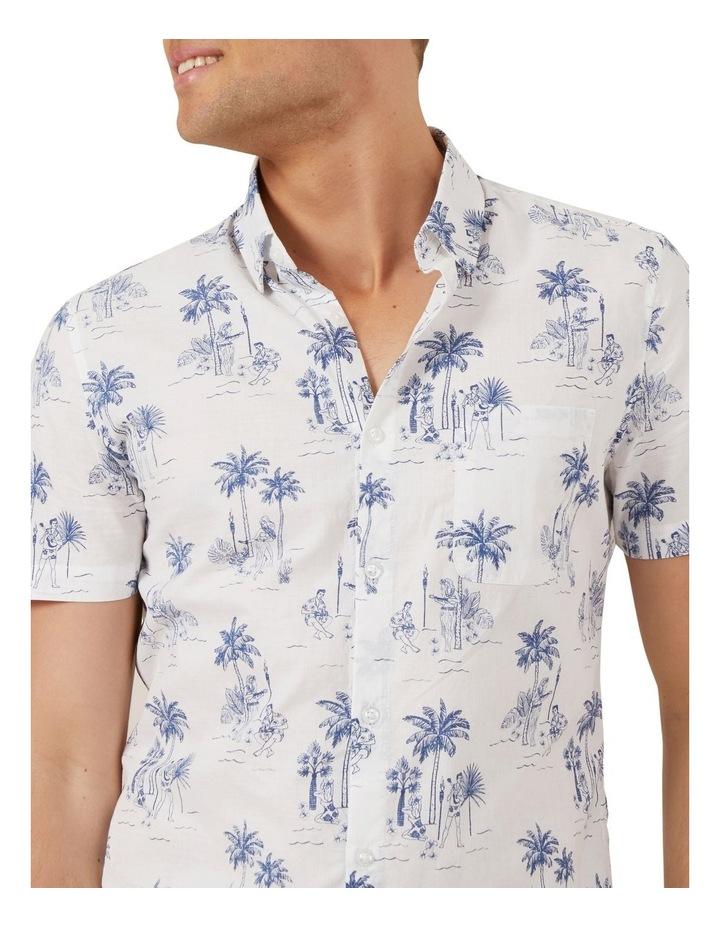Hawaiian Print Classic Fit Shirt image 4