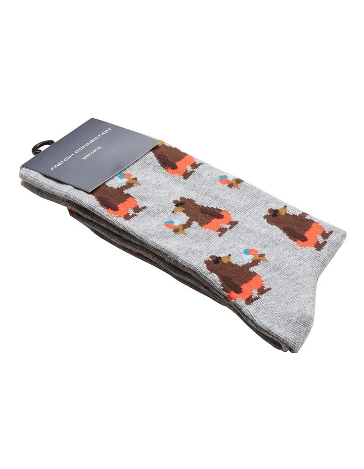 Beach Bear 1 Pk Socks image 2