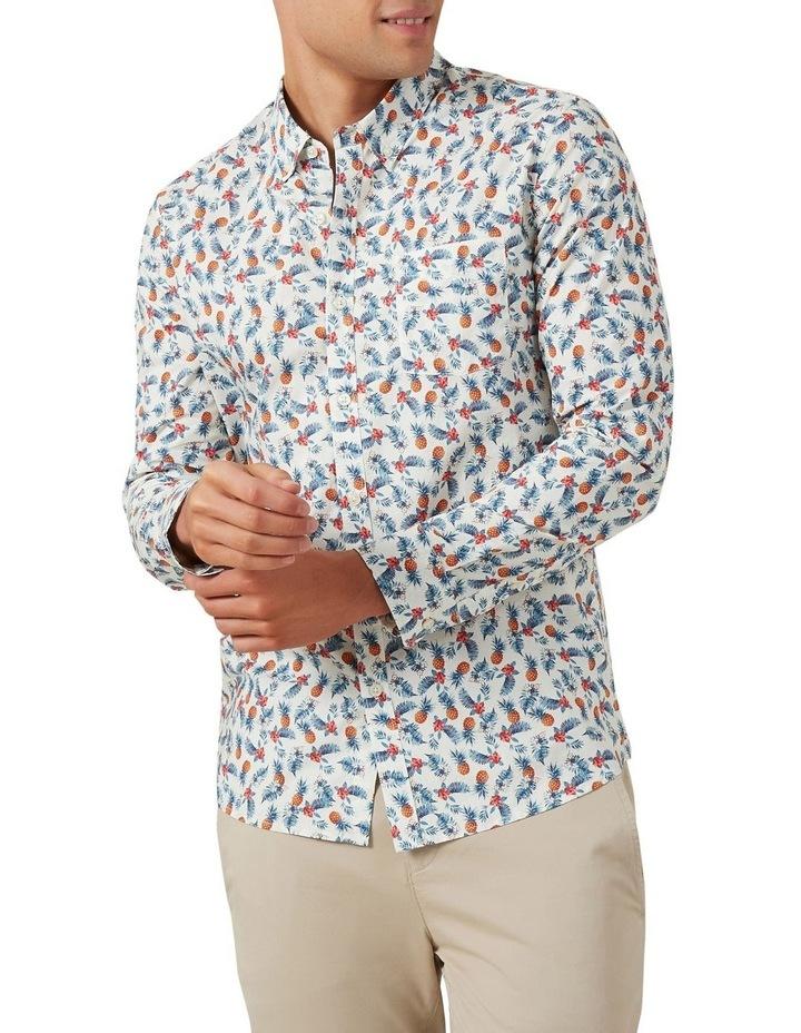 Pineapple Leaf Custom Fit Shirt image 1