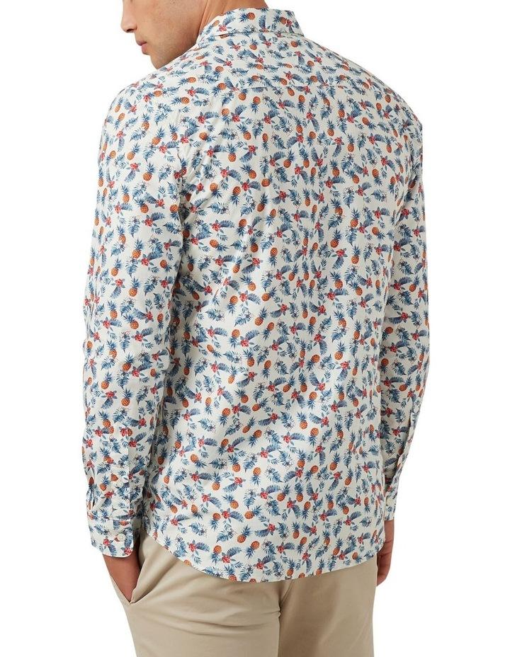Pineapple Leaf Custom Fit Shirt image 3