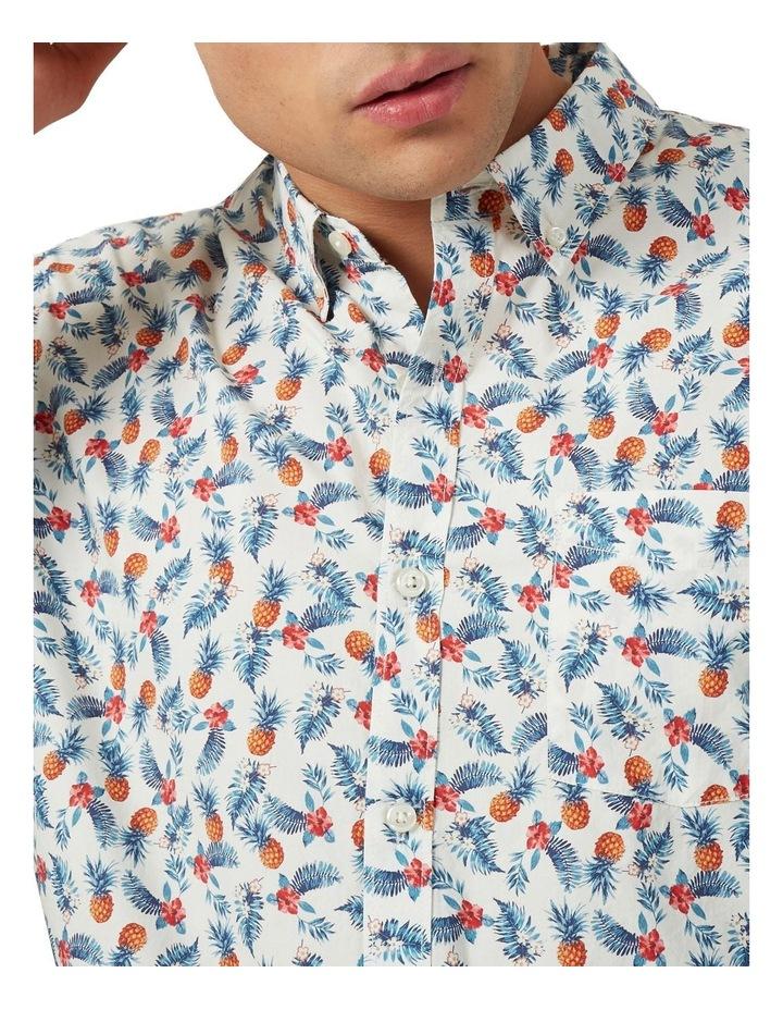 Pineapple Leaf Custom Fit Shirt image 4