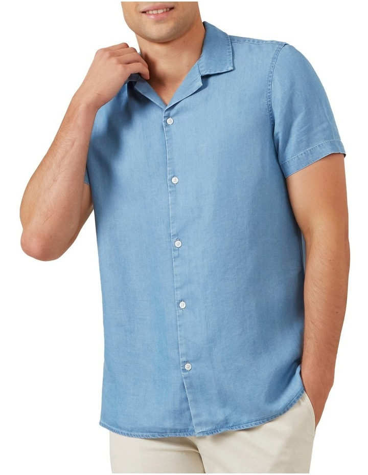 Chambray Short Sleeve Classic Fit Shirt image 1