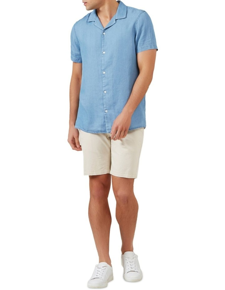 Chambray Short Sleeve Classic Fit Shirt image 2