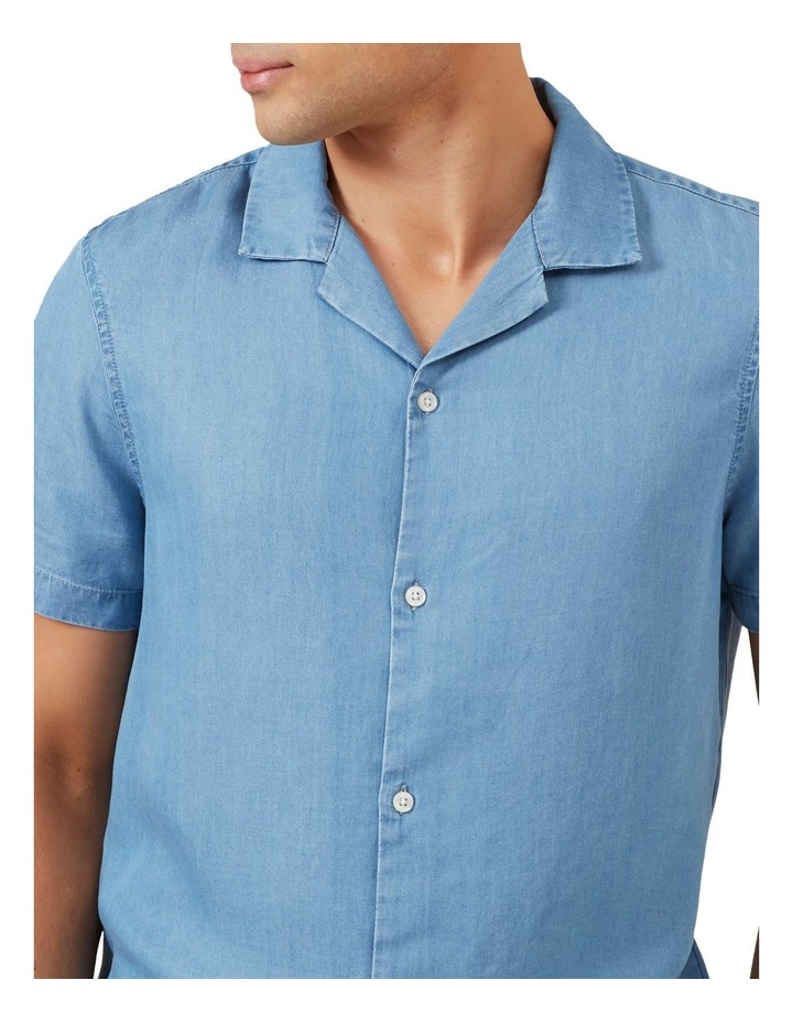 Chambray Short Sleeve Classic Fit Shirt image 4