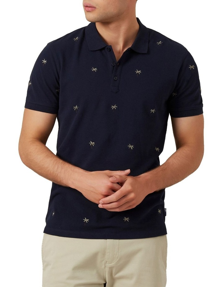 Palm Tree Embroidered Polo image 1