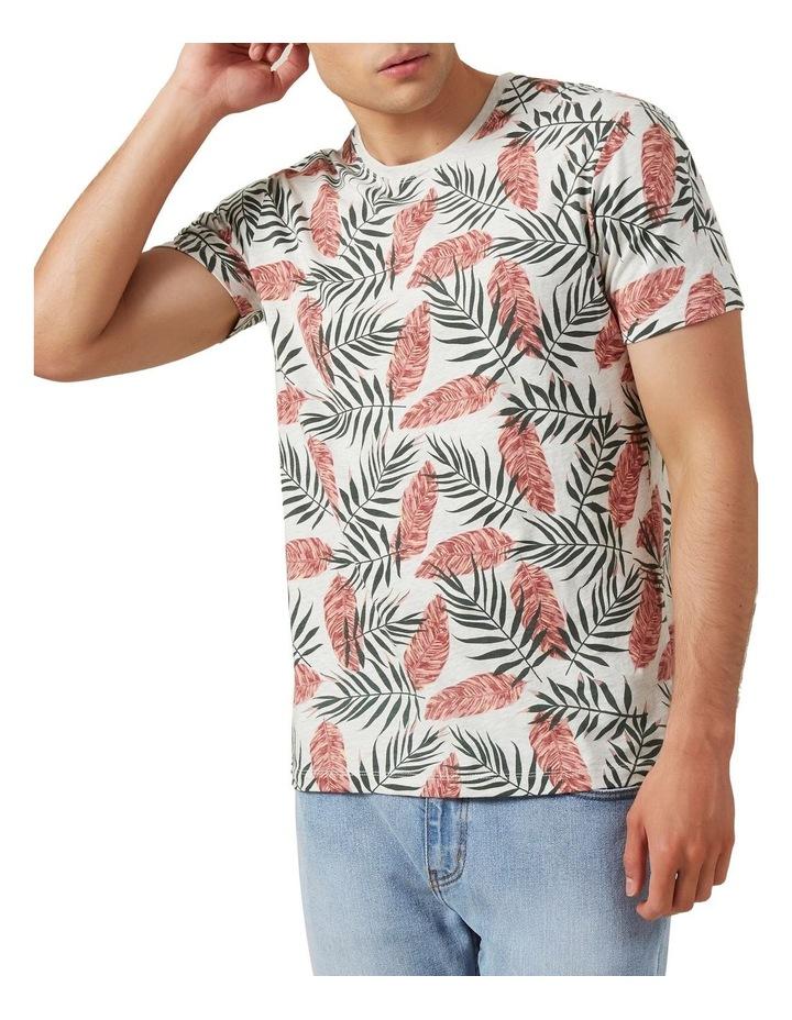 Leaf Print T Shirt image 1