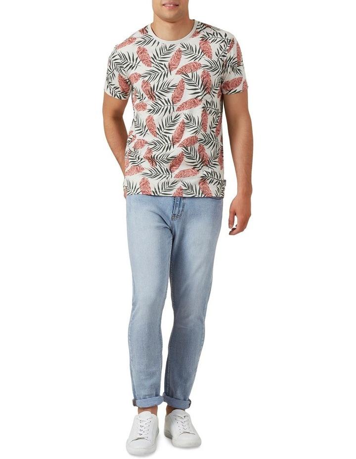 Leaf Print T Shirt image 2
