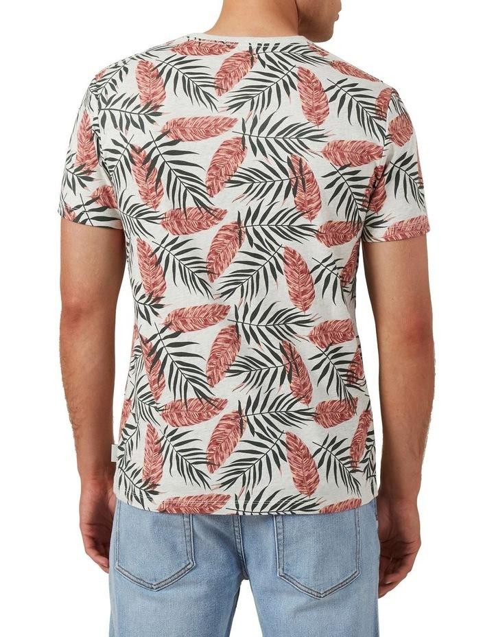 Leaf Print T Shirt image 3