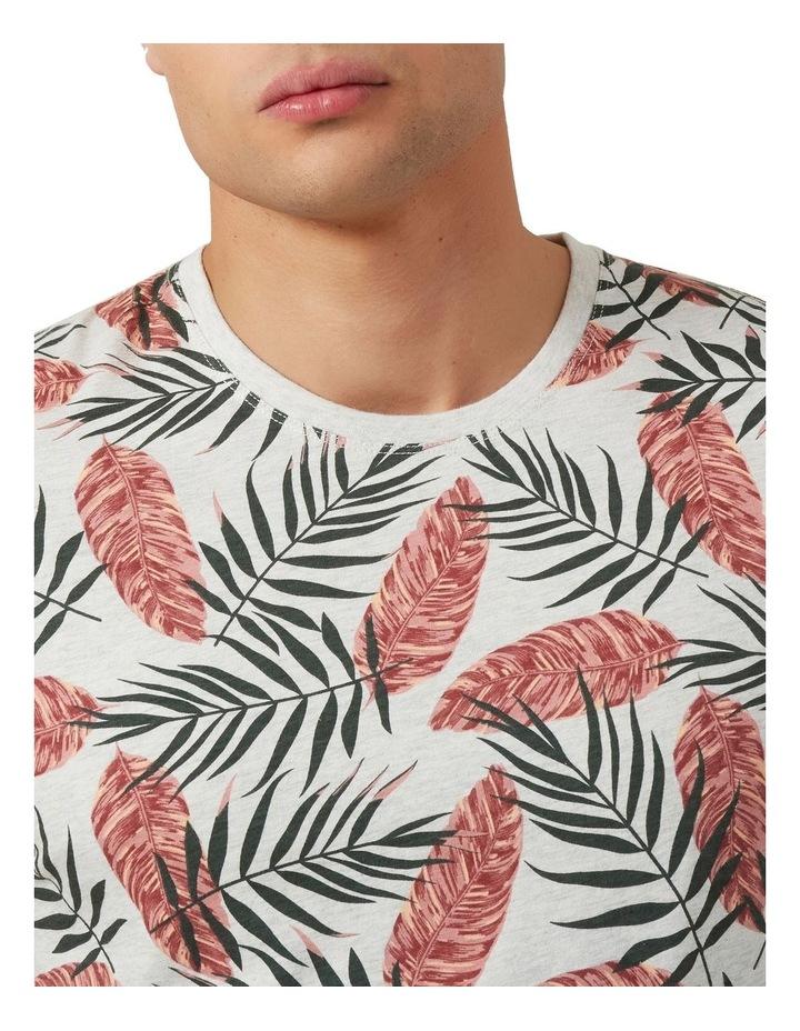 Leaf Print T Shirt image 4