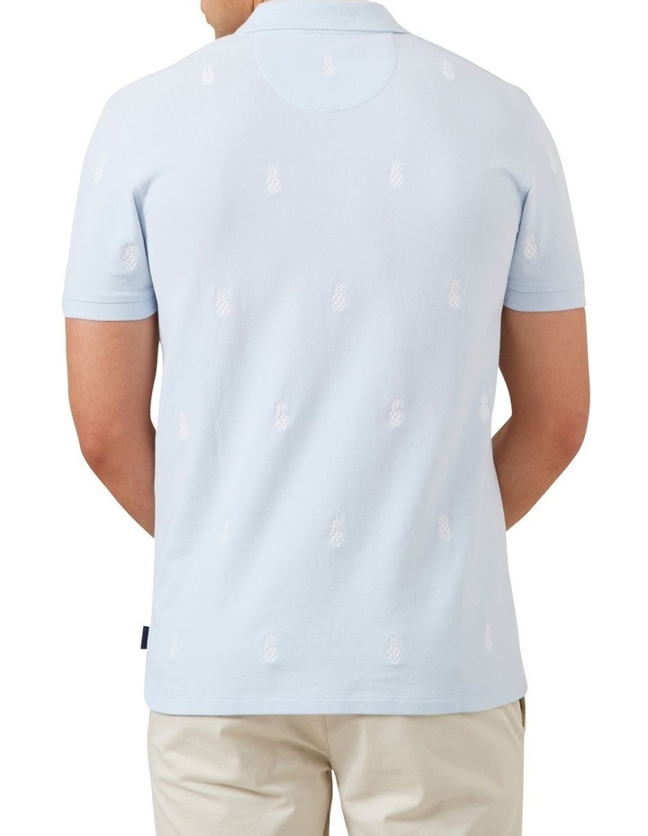 Pineapple Embroidered Polo image 3