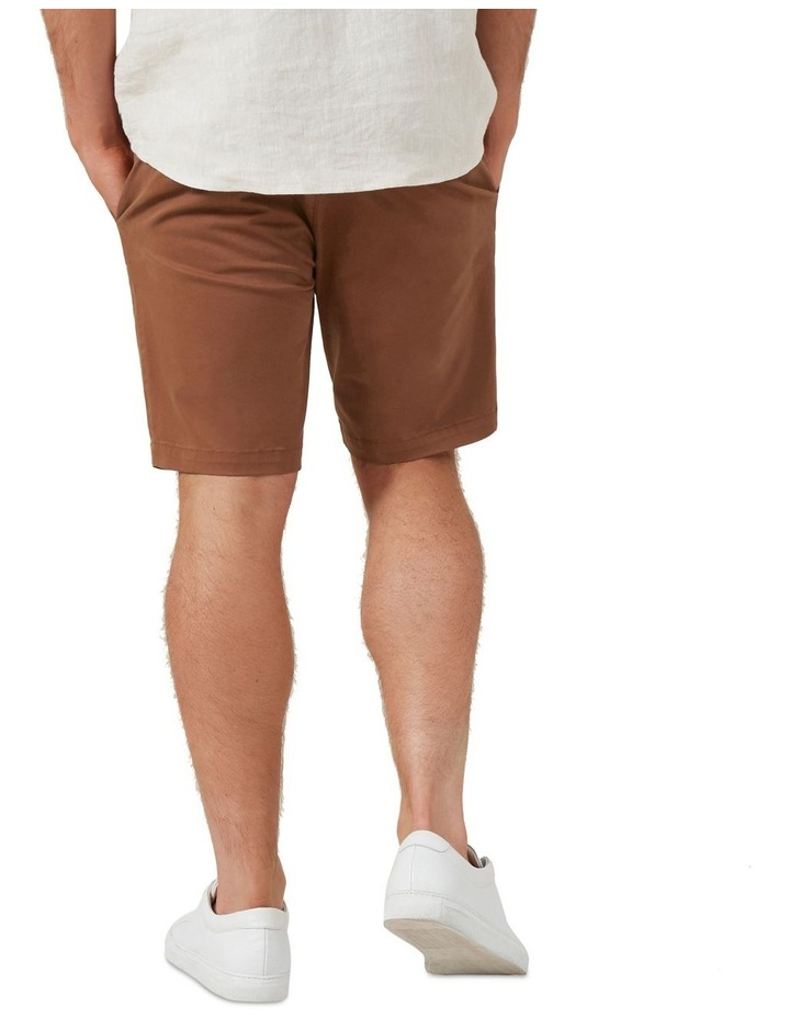 Slim Fit Stretch Chino Short image 3