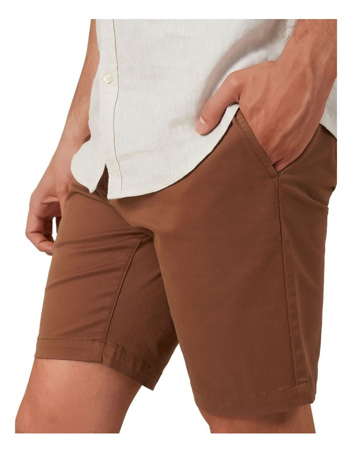 Slim Fit Stretch Chino Short image 4