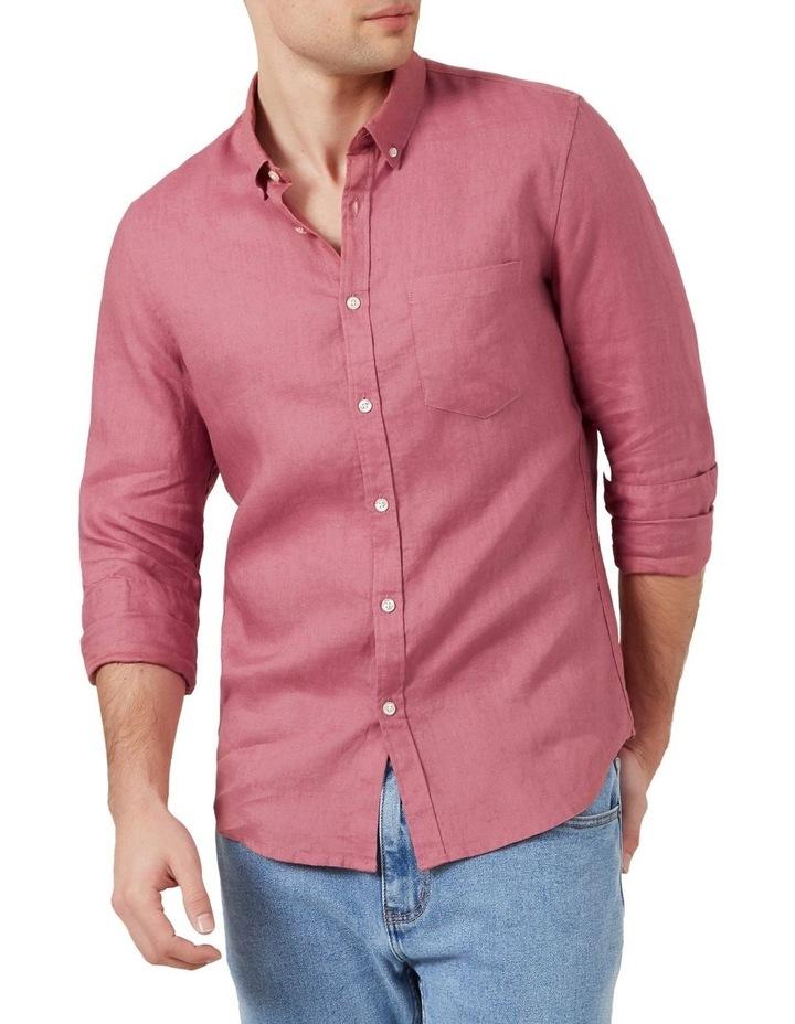 Linen L/S Classic Fit Shirt image 1