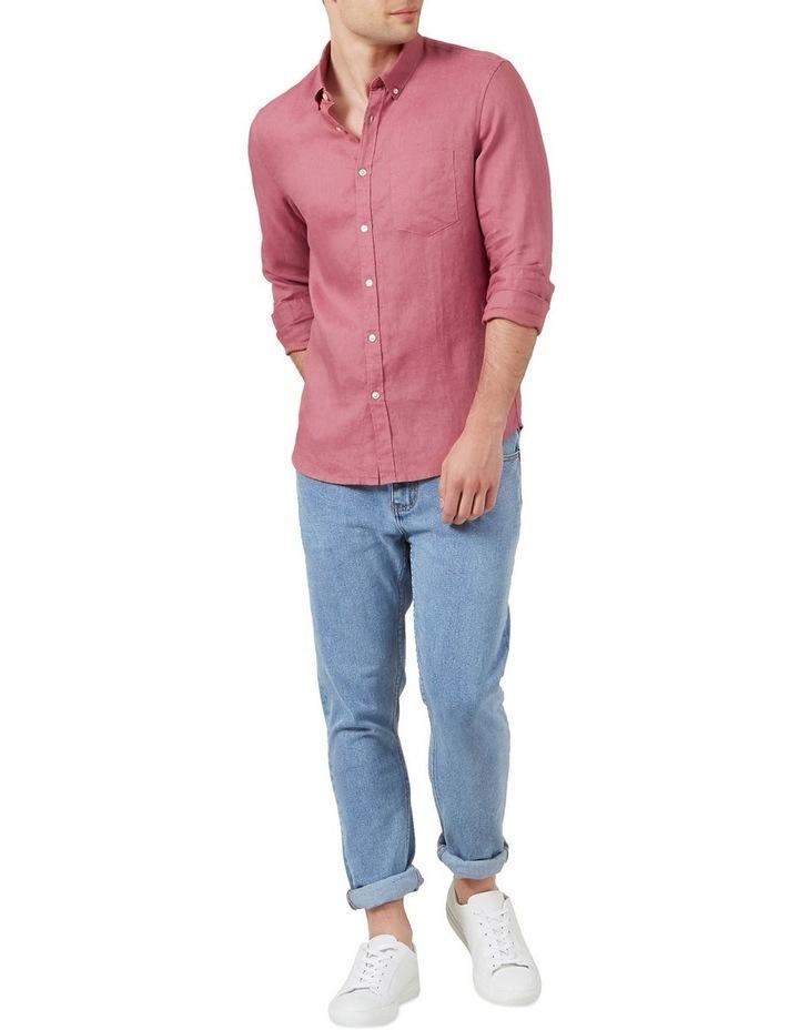 Linen L/S Classic Fit Shirt image 2