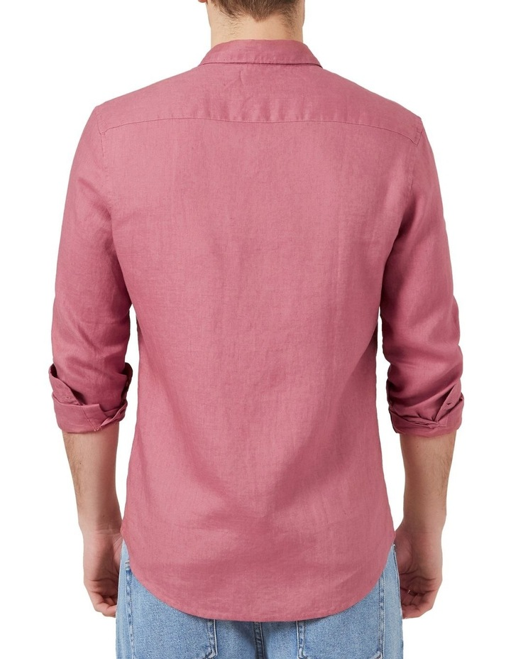 Linen L/S Classic Fit Shirt image 3
