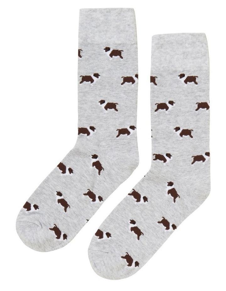 Bulldog 1 Pk Socks image 1