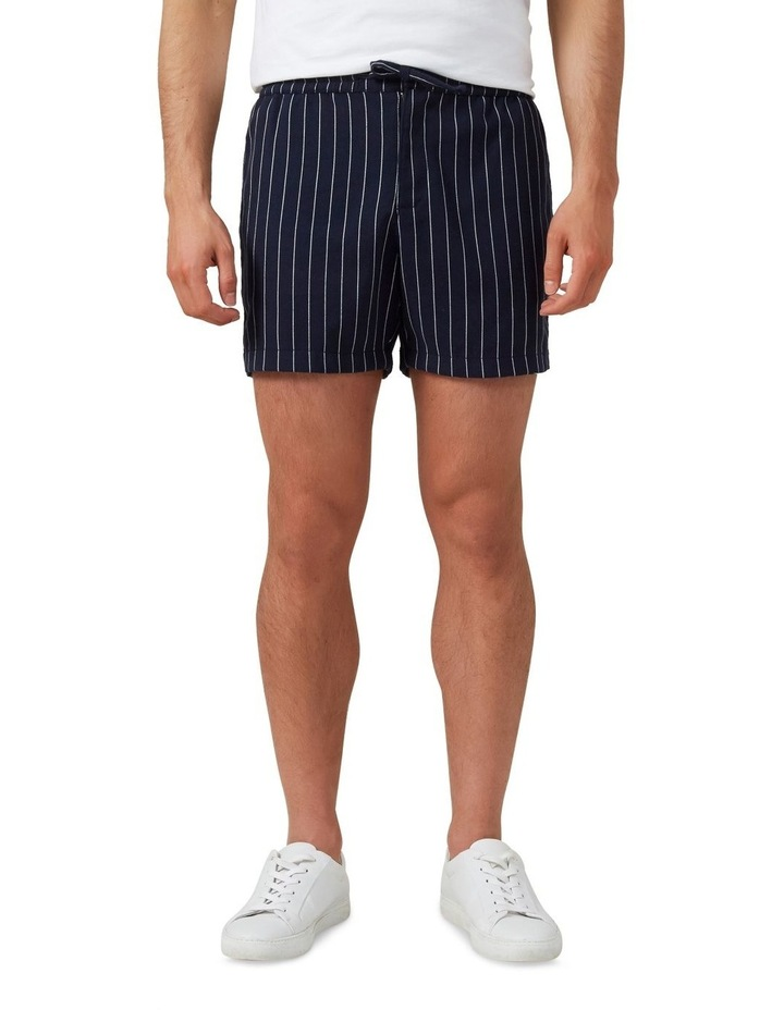 Retro Stripe Pull On Short image 1