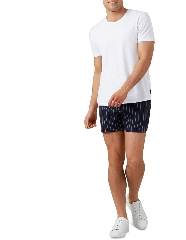 Retro Stripe Pull On Short image 2