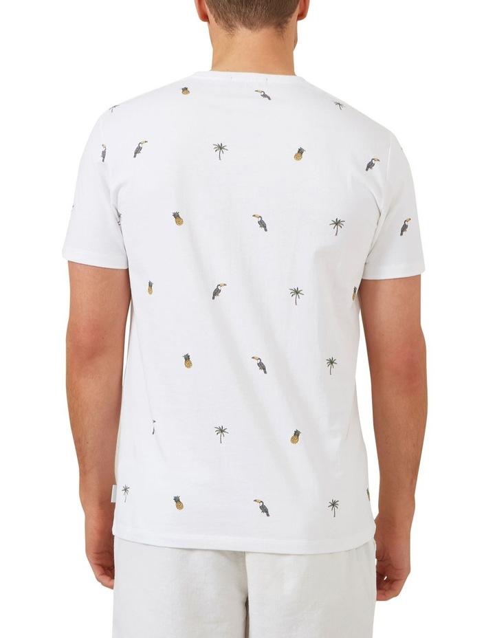 Tropical Print T Shirt image 3