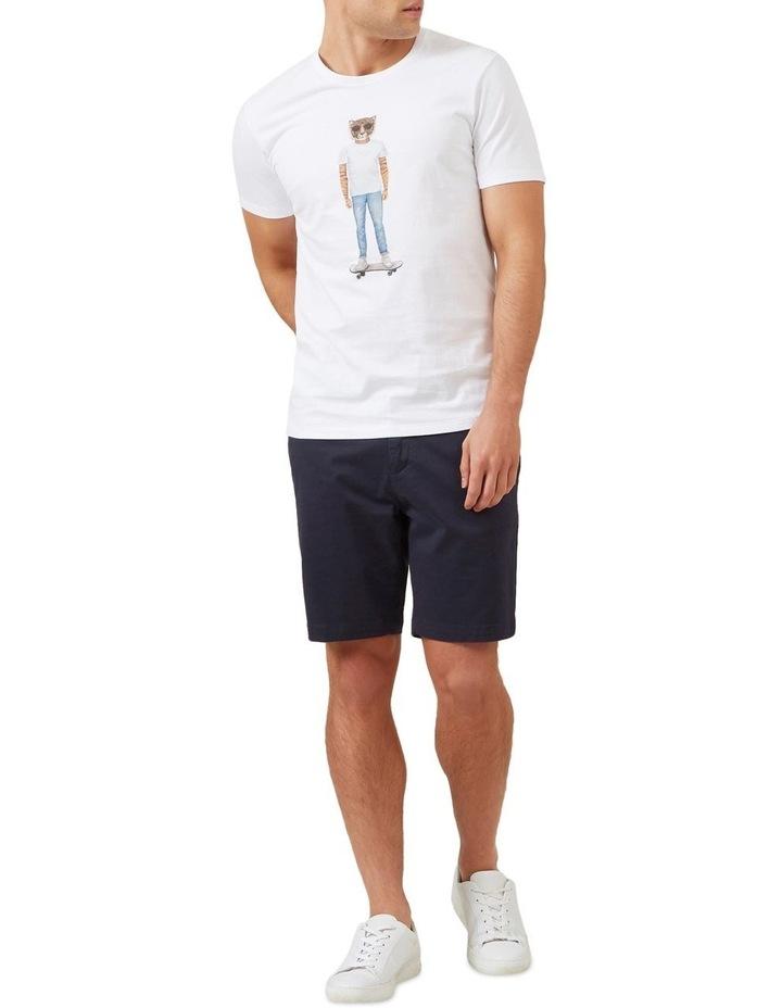 Skater Tiger T Shirt image 2