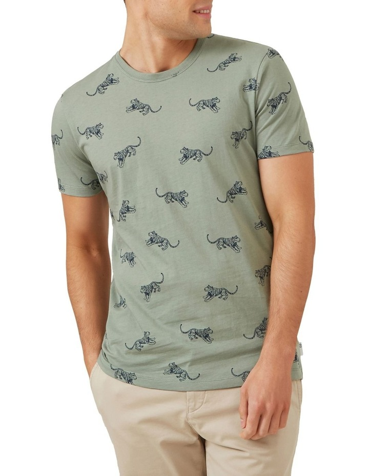 All Over Tiger T Shirt image 1
