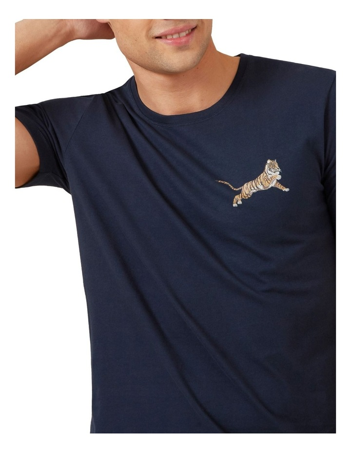 Tiger Chest T Shirt image 4