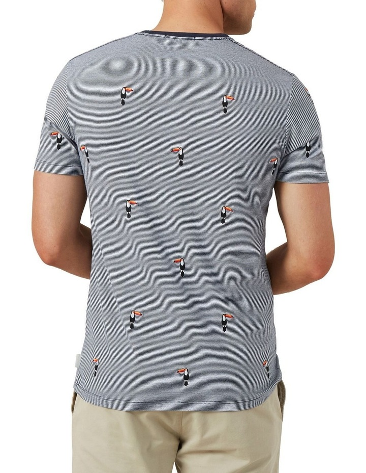 Embroidered Toucan T Shirt image 3