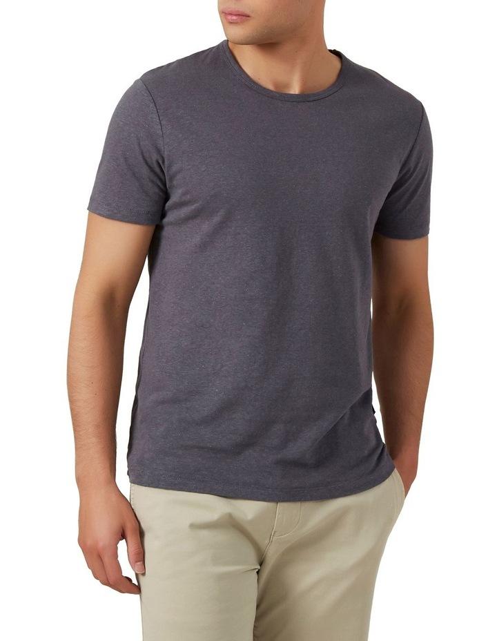 Linen Blend T Shirt image 1
