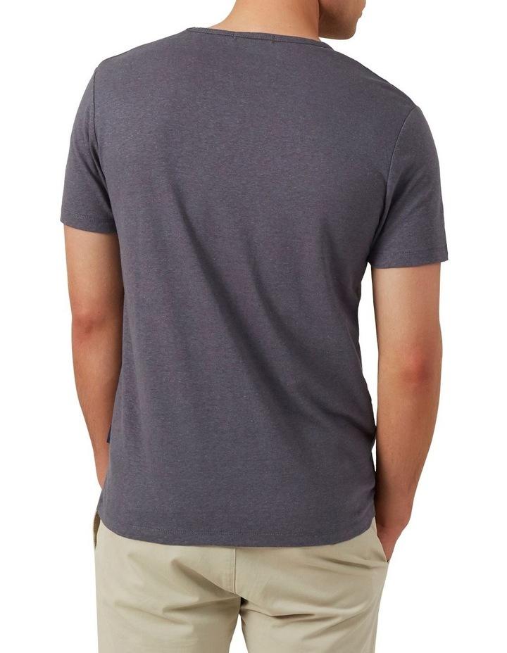 Linen Blend T Shirt image 3