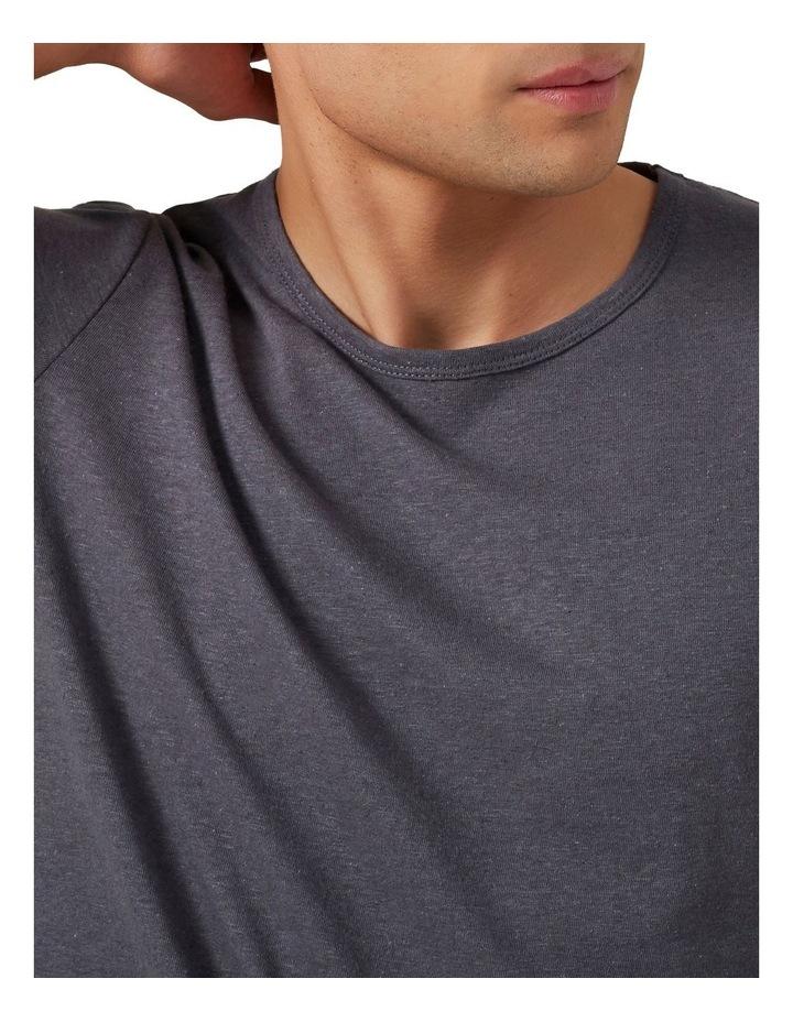 Linen Blend T Shirt image 4