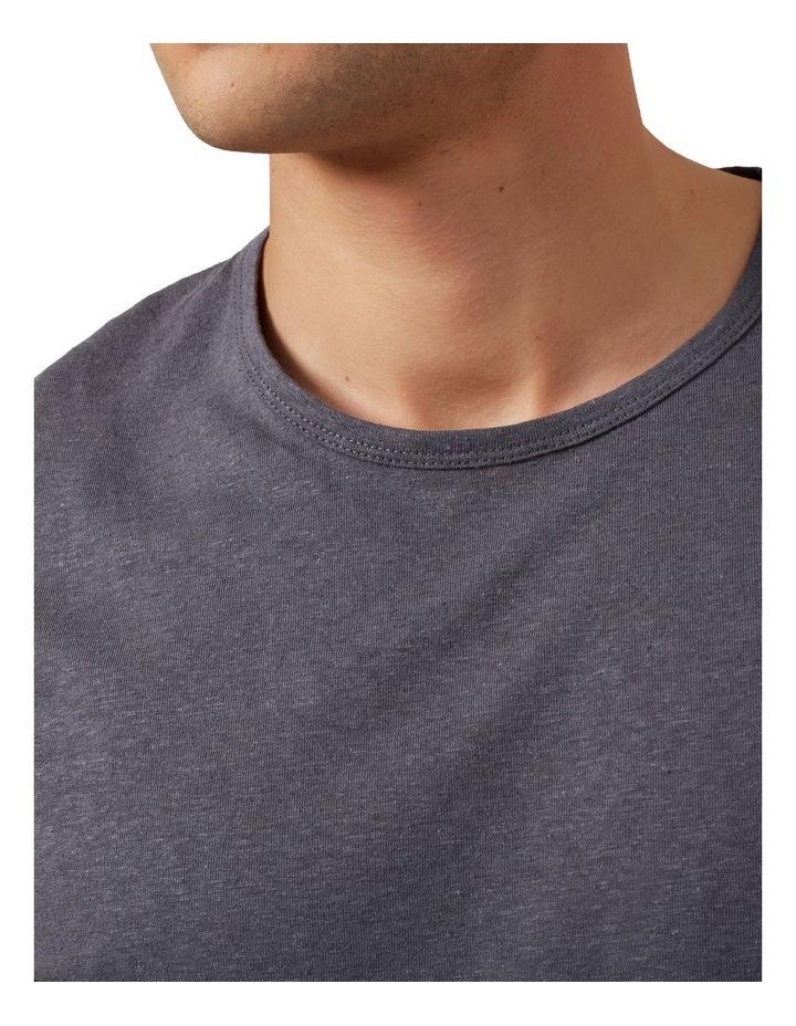 Linen Blend T Shirt image 5