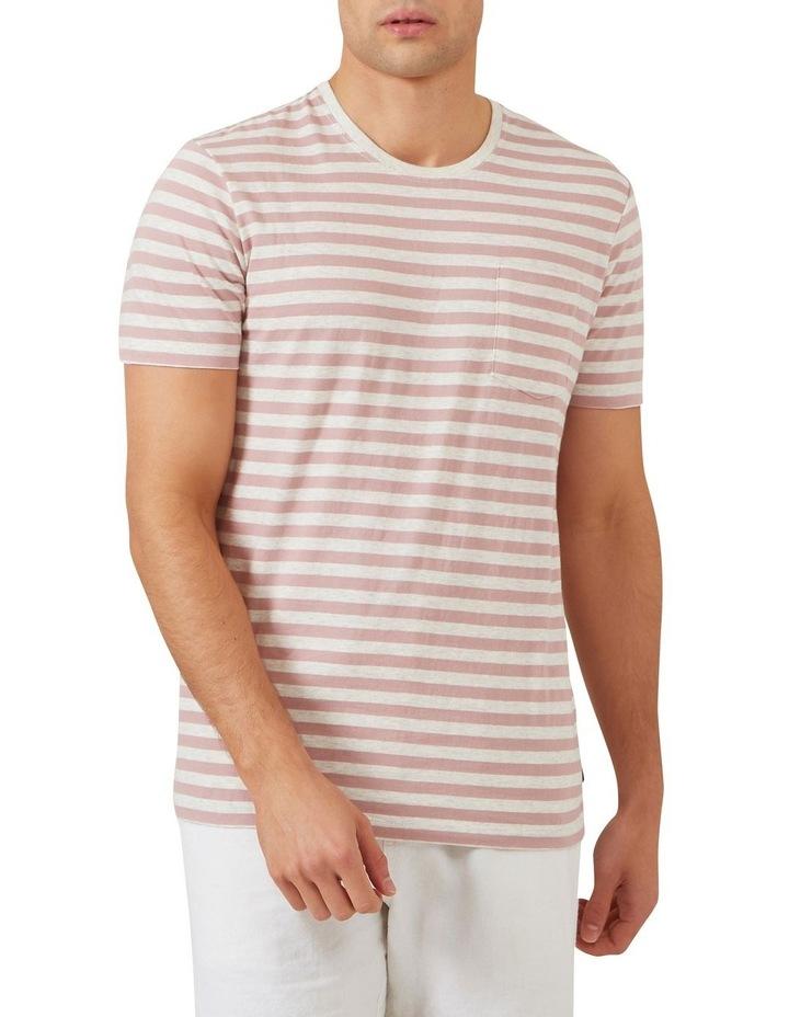 Marl Stripe T Shirt image 1