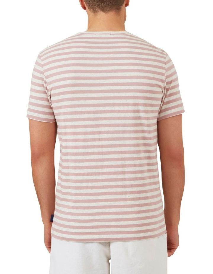 Marl Stripe T Shirt image 3