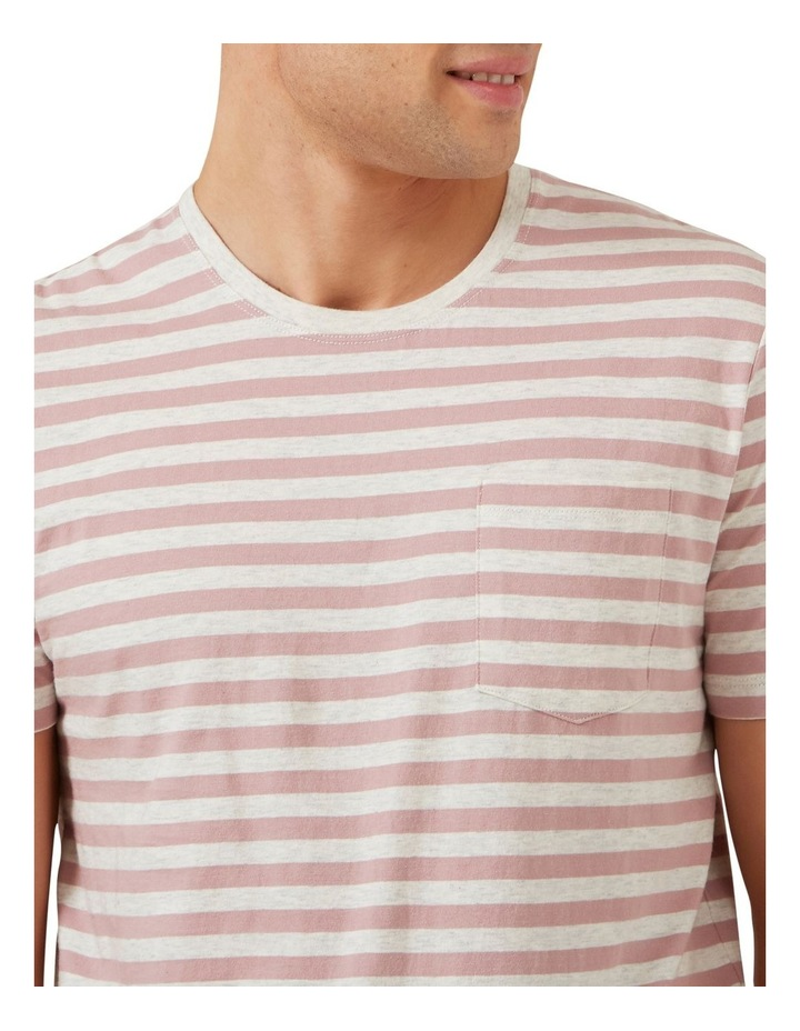 Marl Stripe T Shirt image 4