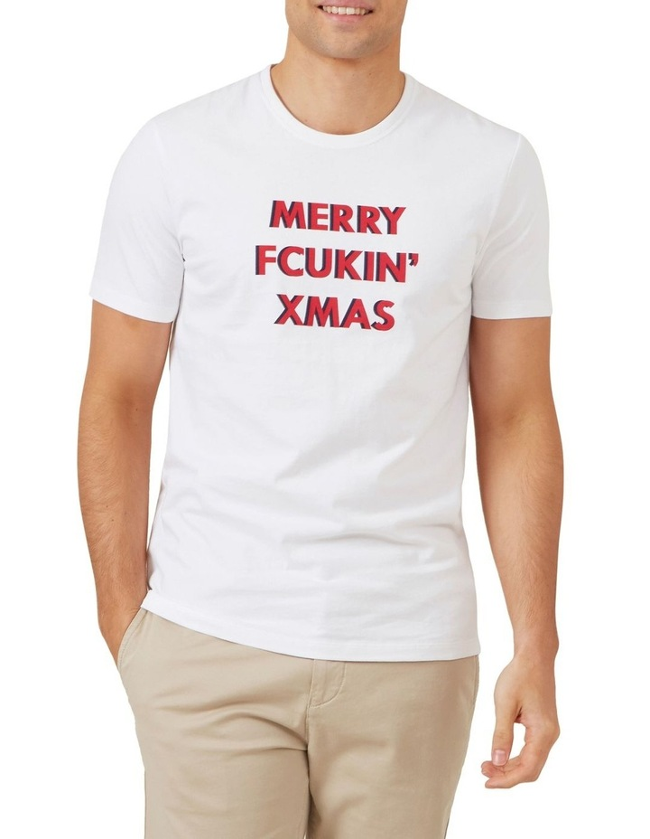 Merry Fcuking Xmas T Shirt image 1
