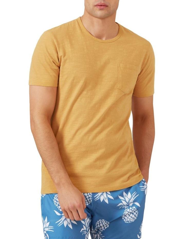 Snow Wash Slub T Shirt image 1