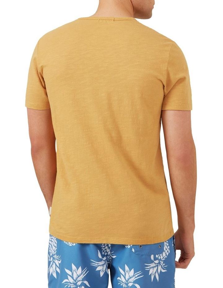 Snow Wash Slub T Shirt image 3