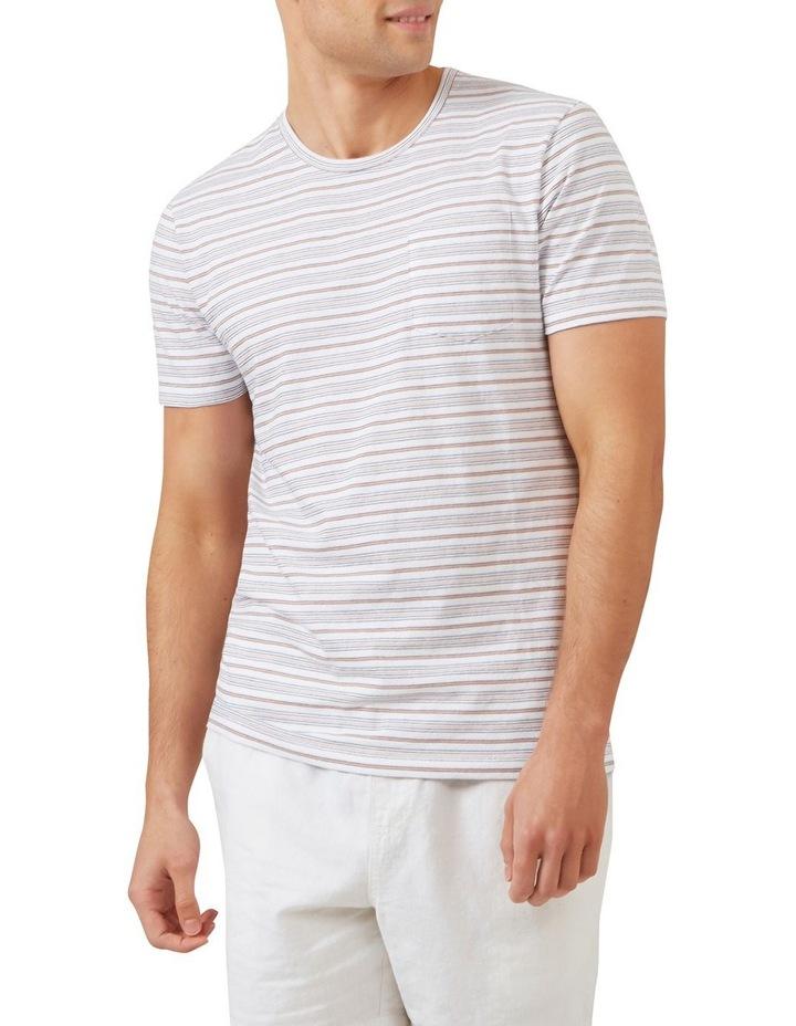 Thin Multi Stripe T Shirt image 1